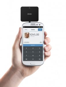 The iZettle MPOS in action