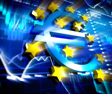 EU flag and stars