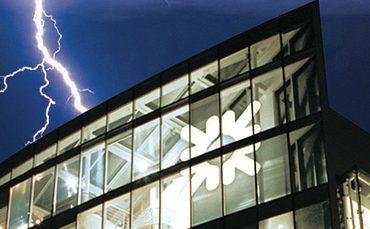 A lightning strike on RBS