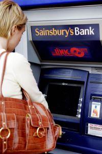 A Sainsburys Bank ATM