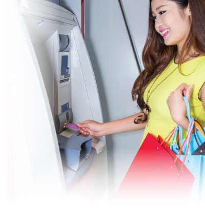 Image showing ATM in use in China