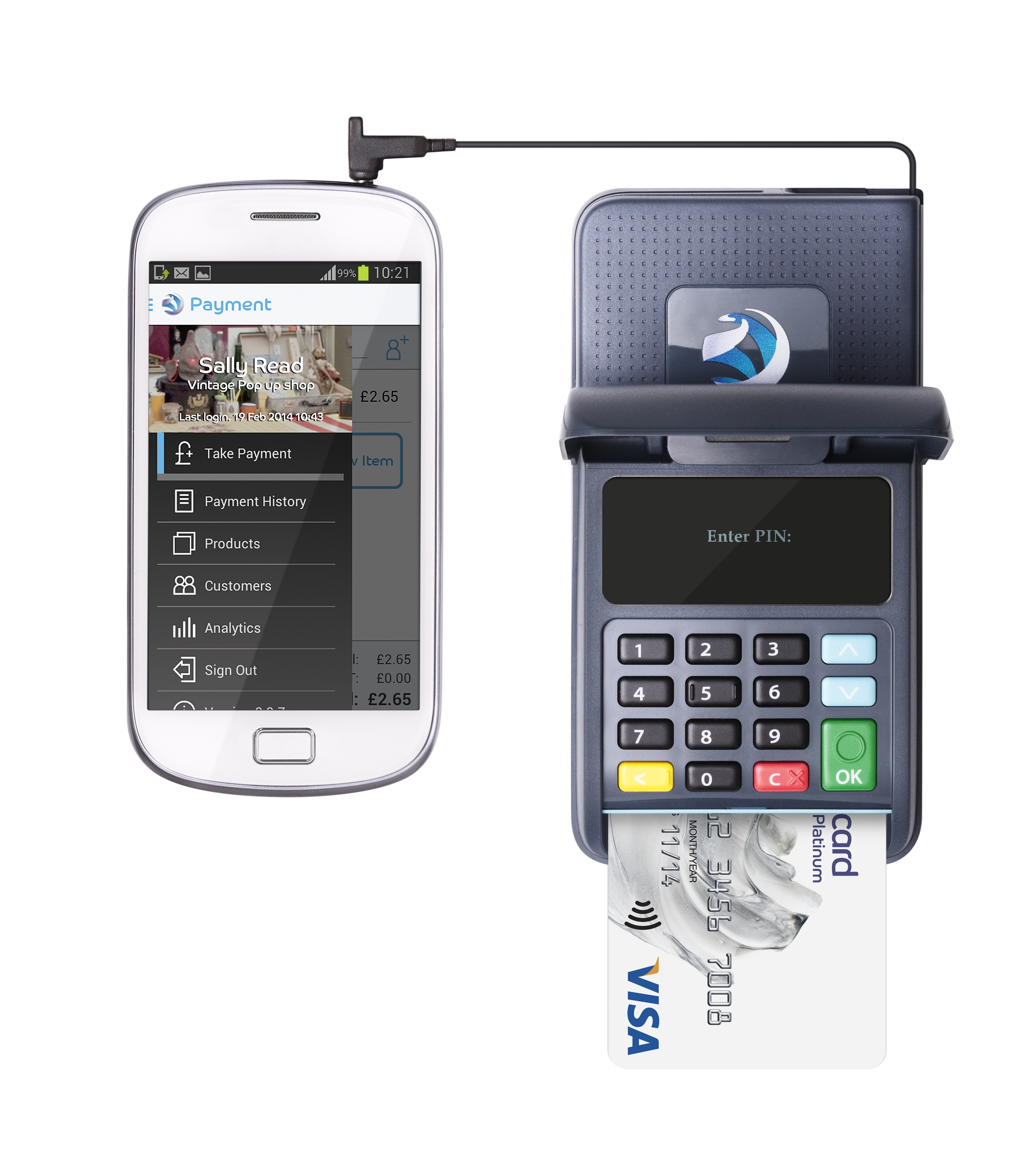 Uk smes payments cards mobile barclaycard anywhere reheart Choice Image