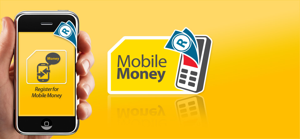 An advert for MTN mobile banking