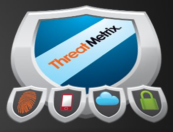 A shield saying Threatmetrix