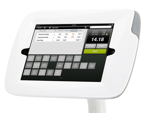 A futuristic POS machine
