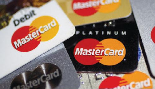 MasterCard cards image