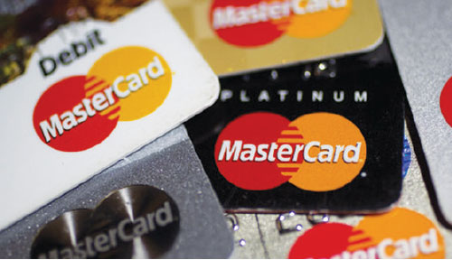 MasterCard cards image