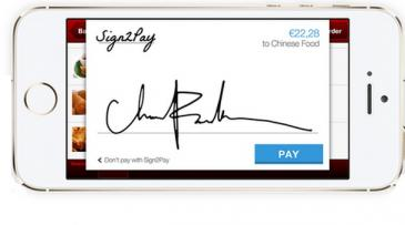 Signature-based mobile commerce payments