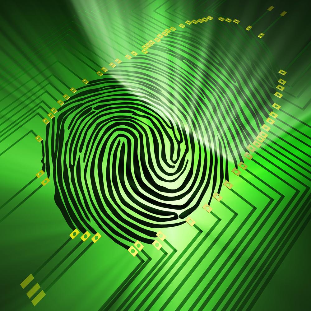 A fingerprint payment system