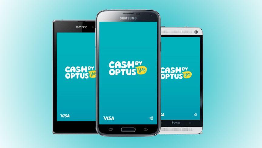 The Optus Cash app