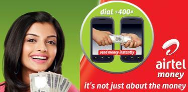 A Bharti Airtel advert for Airtel Money