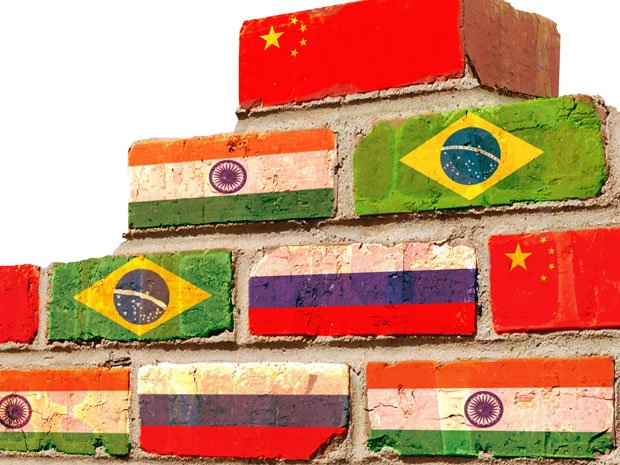 Bricks with country flags on them