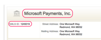 Microsoft Payments 2