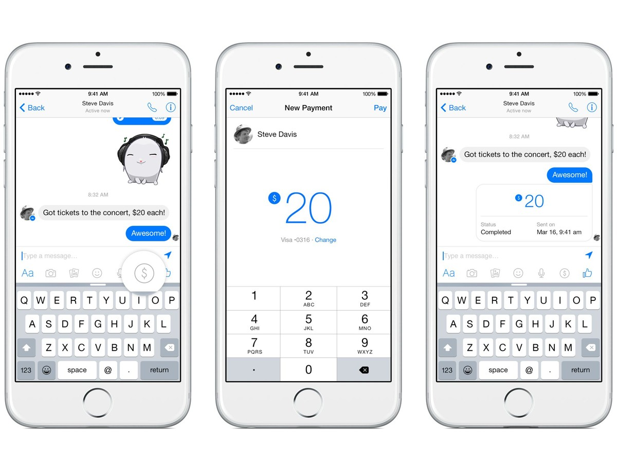 Facebook Messenger payments - Payments Cards & Mobile