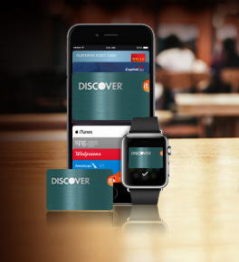 Discover start accepting Apple Pay