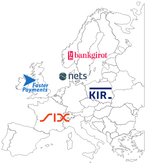 Real-Time payments networks in Europe