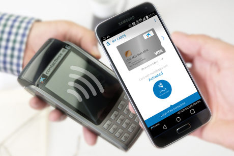 HCE-based contactless payment app