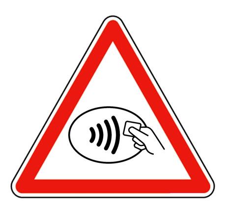 Contactless card fraud warning
