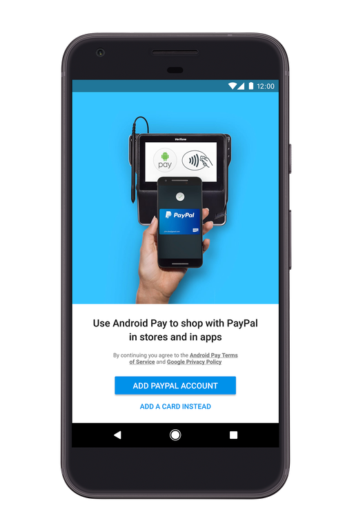 PayPal partners with Android Pay for mobile payments