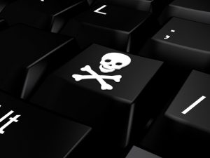 Hackers, piracy, cuber security