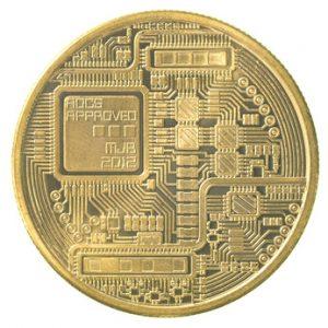 gold CollCo coin