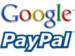 PayPal partners Google