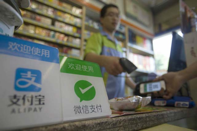 China's mobile payments market