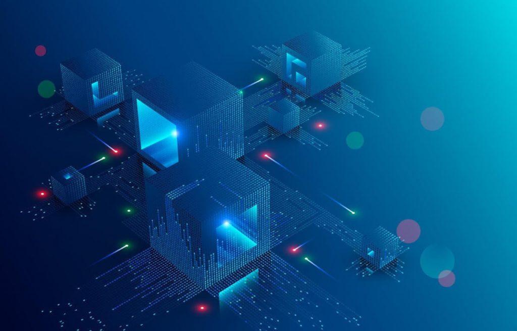 FinTech + Digital image