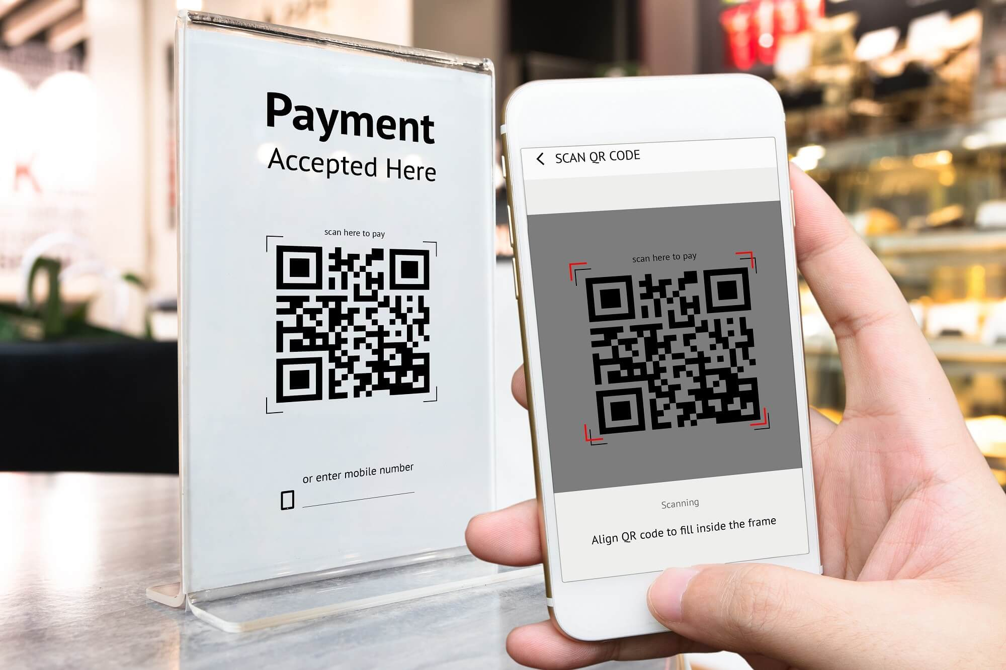 Is Apple Pay working on a QR code based payments system?