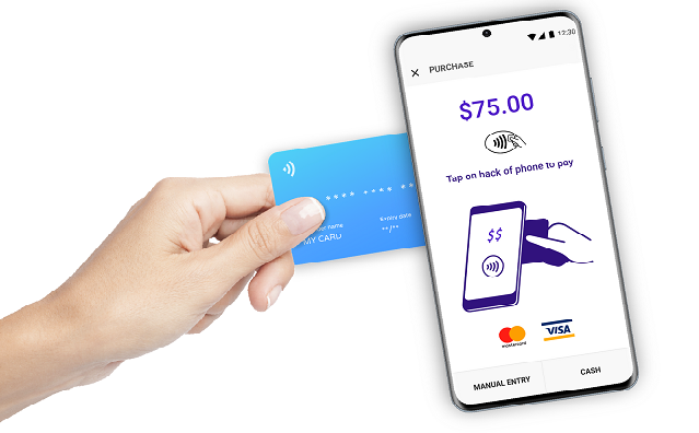 iPhone to payments terminal