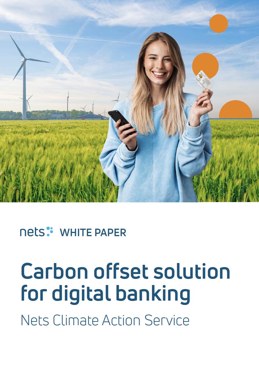 Carbon offset solution for digital banking