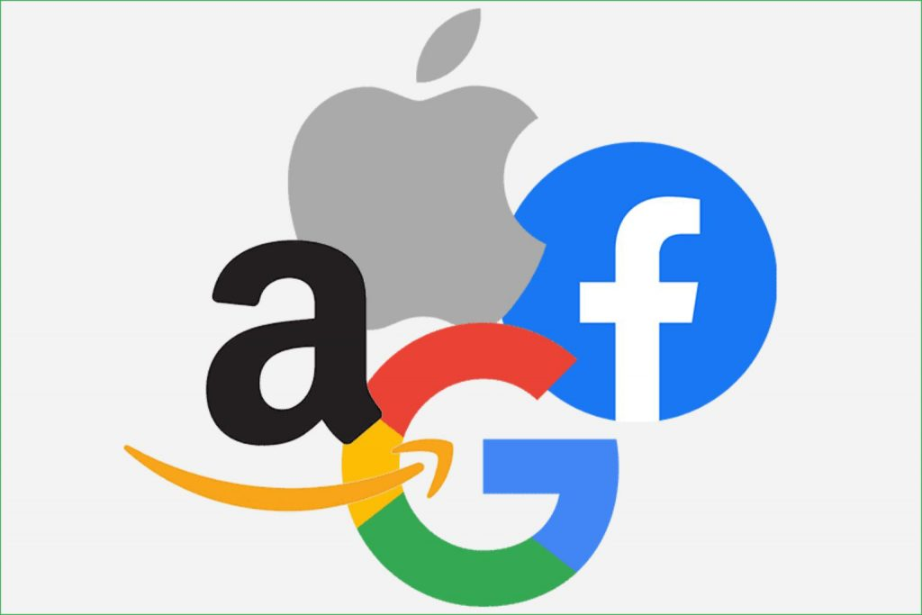 Apple Google AWS FB